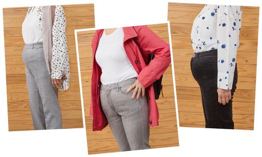 皆さんがお持ちのズボンは体型に合っていますか?