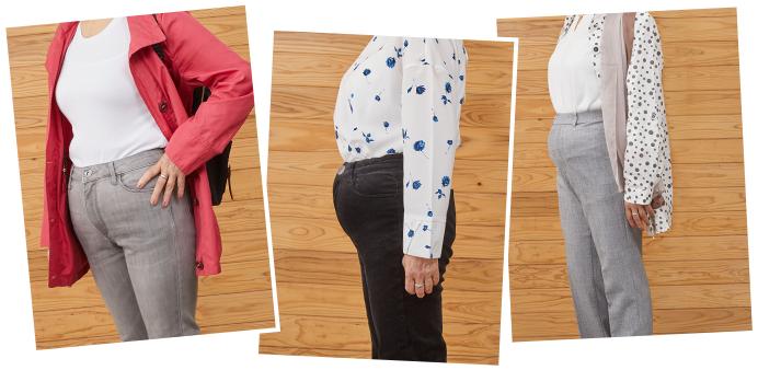 皆さんがお持ちのズボンは体型に合っていますか